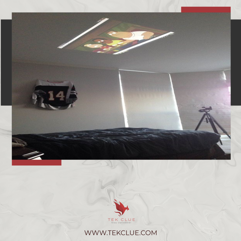 Best projector for bedroom ceiling