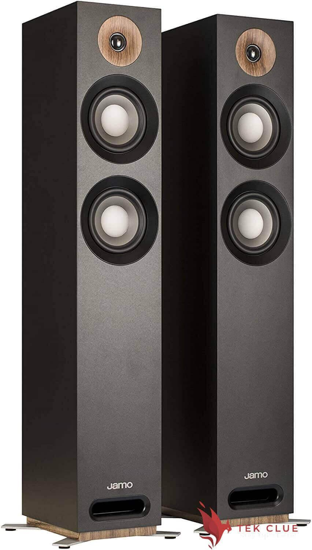 Jamo-Studio-Series-S-807-Black-Floorstanding-Speakers