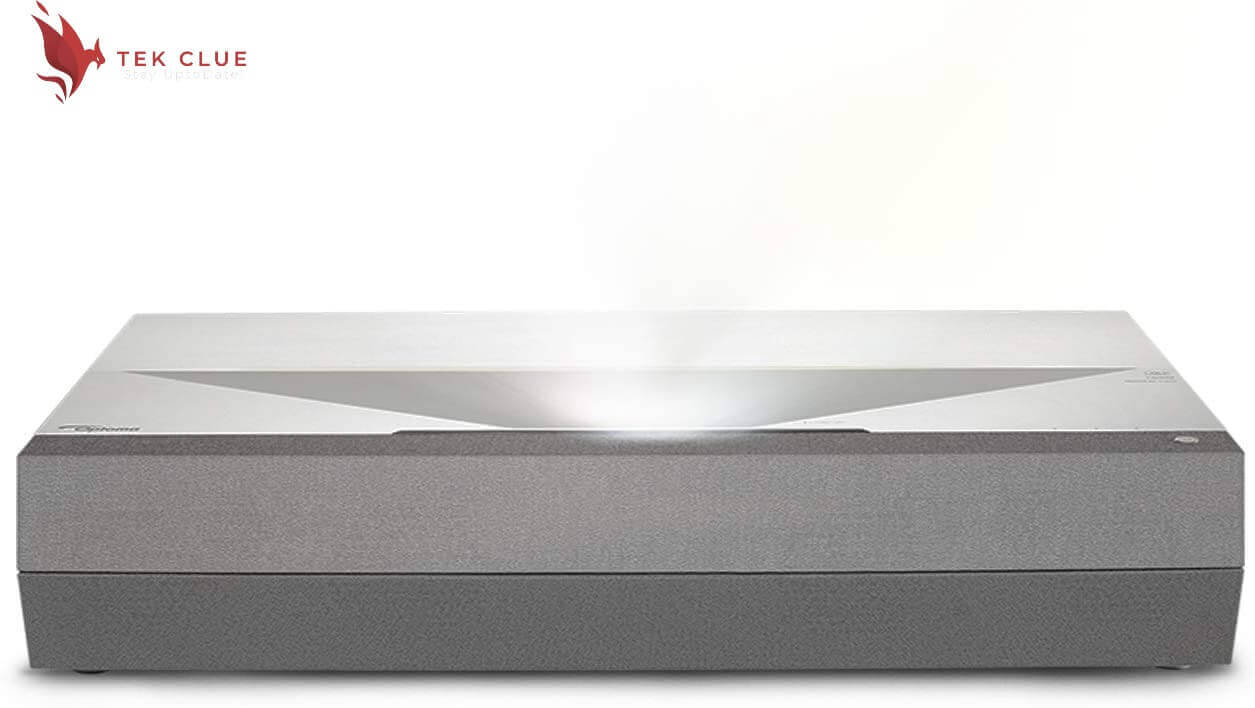 Optoma CinemaX P2 Ultra Short Throw 4K UHD Laser Projector for Home Theater