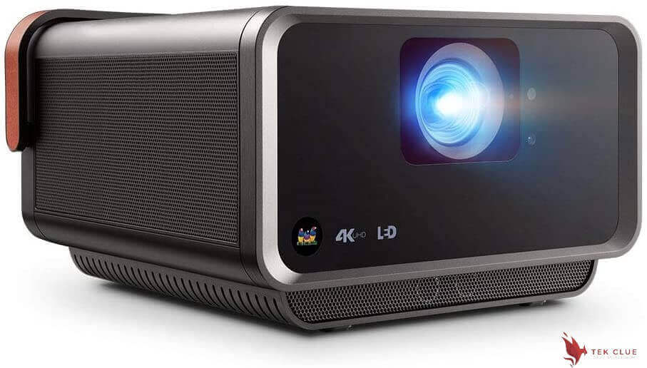 ViewSonic True 4K UHD Shorter Throw LED Portable Smart Wi-Fi Home Theater Projector