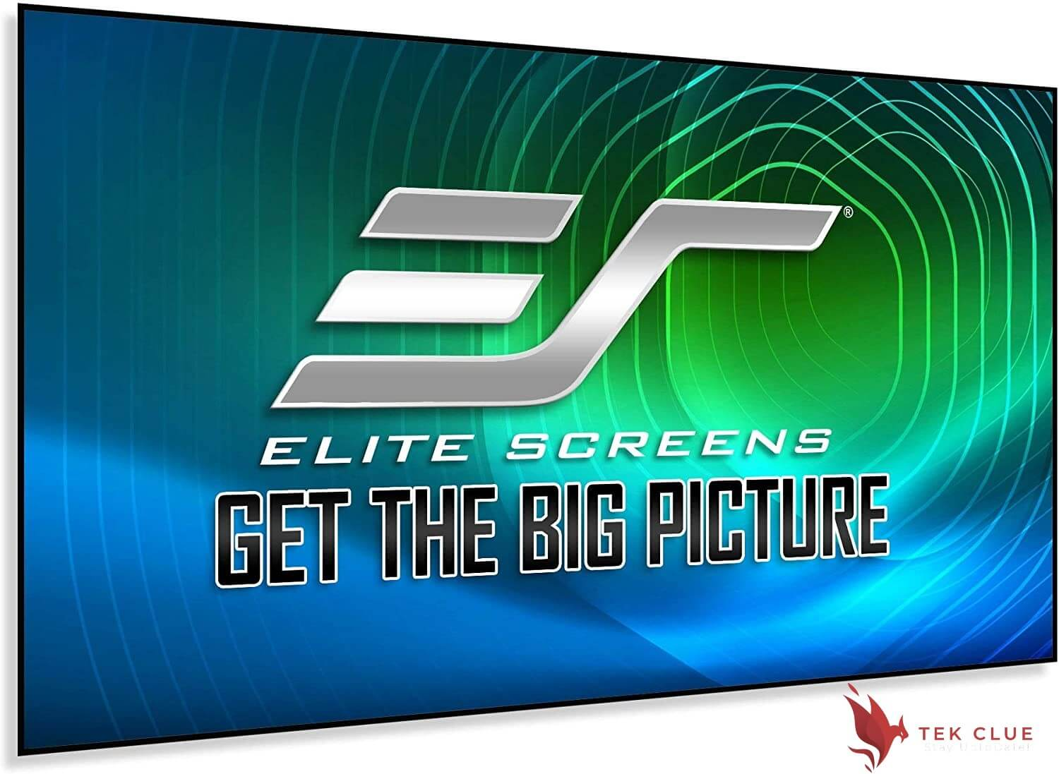 Elite Screens Aeon CLR Series, 100-inch 16:9, Edge Free Ambient Light Rejecting Fixed Frame Projector Screen