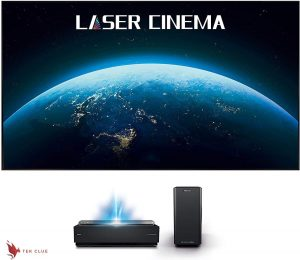 Hisense 100L10E 100-Inch 4K UHD Smart Laser Projector