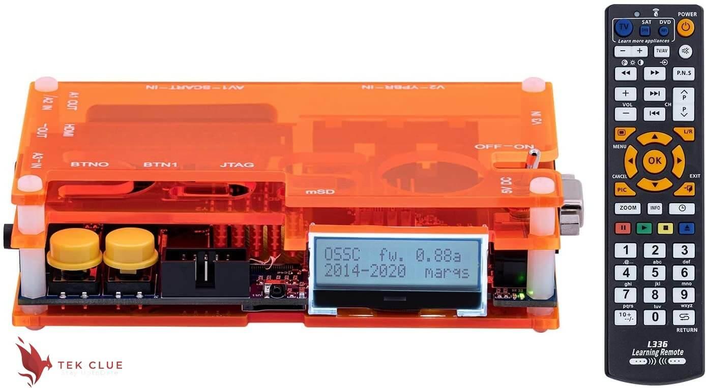 Mcbazel OSSC SCART Component VGA to HDMI