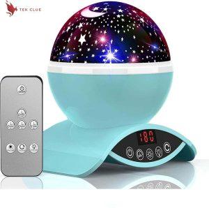 YSD Night Lighting Lamp, Modern Star Rotating Projection, Romantic Star Projector