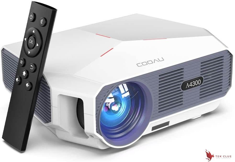 COOAU Portable Outdoor Movie Projectors