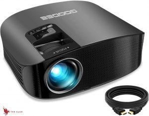 GooDee 2020 Best Home Theater projector (Best Video Projector Under 500)